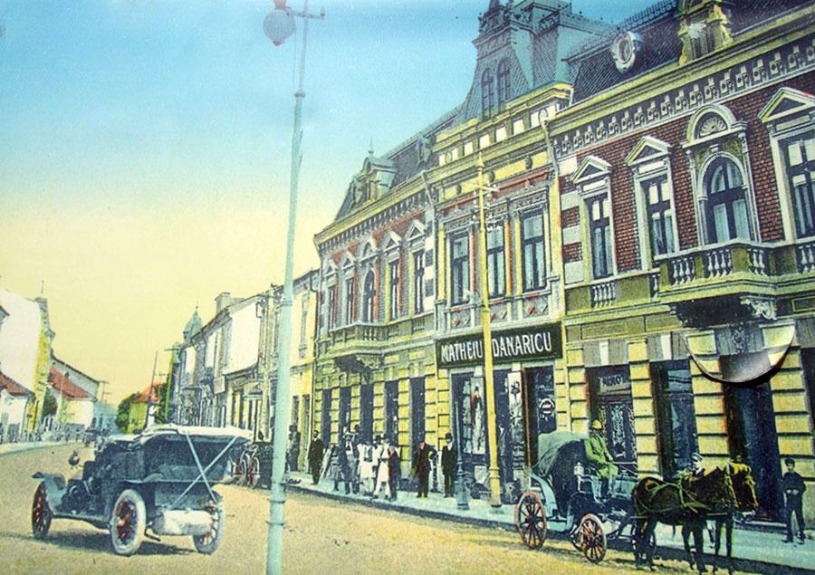 Străzile orașului Târgu-Jiu erau iluminate la începutul secolului XX